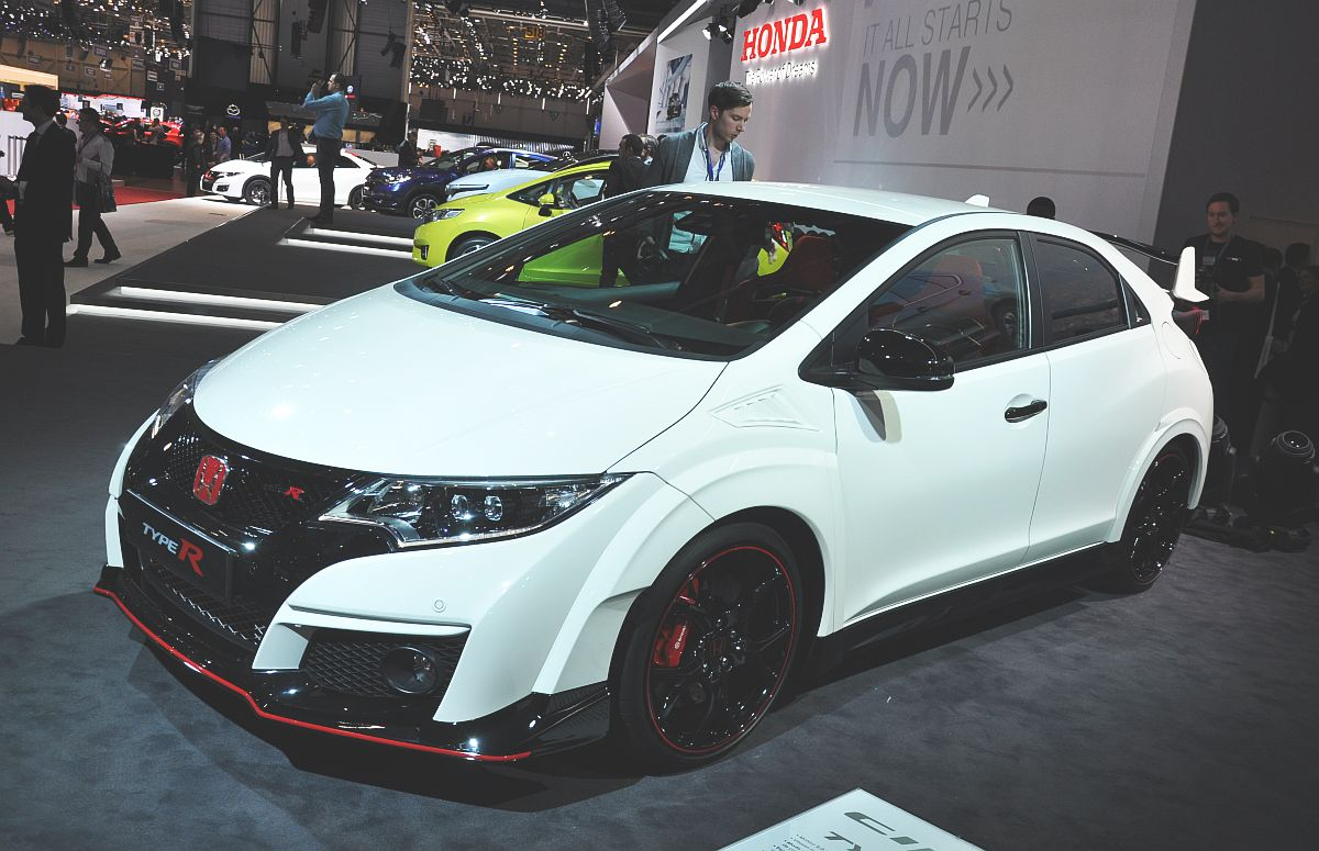 auto salon genf 2015 der neue honda civic type r japansport. Black Bedroom Furniture Sets. Home Design Ideas