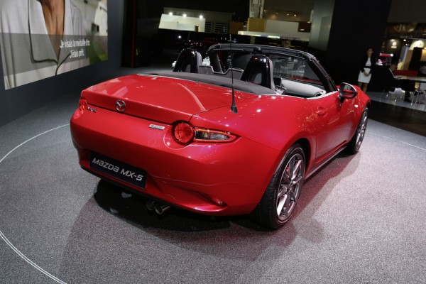 Neuer Mazda MX-5 Hinten
