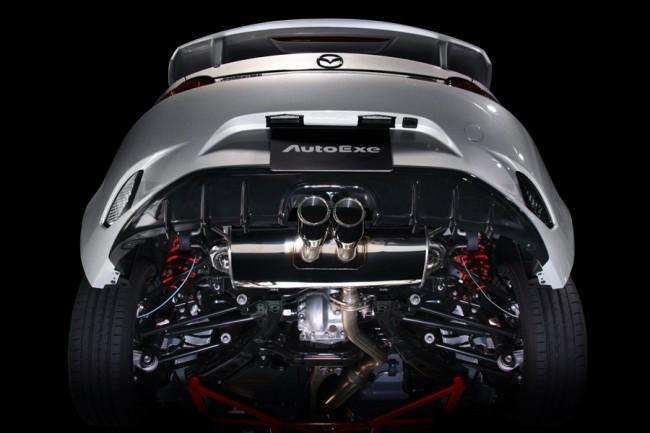 Mazda MX-5 AutoExe Auspuff