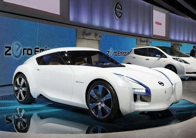 """Gewann keinen Schönheitspreis: Das Nissan Concept Car """"ESFLOW"""""""