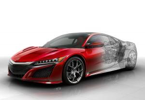 Der Honda NSX Type R dürfte auf die beiden E-Motoren an der Vorderachse verzichten und ein reiner Hecktriebler werden.