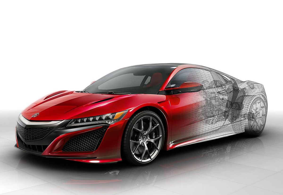 honda nsx type r ab 2017 ohne hybridsystem und mit heckantrieb japansport. Black Bedroom Furniture Sets. Home Design Ideas