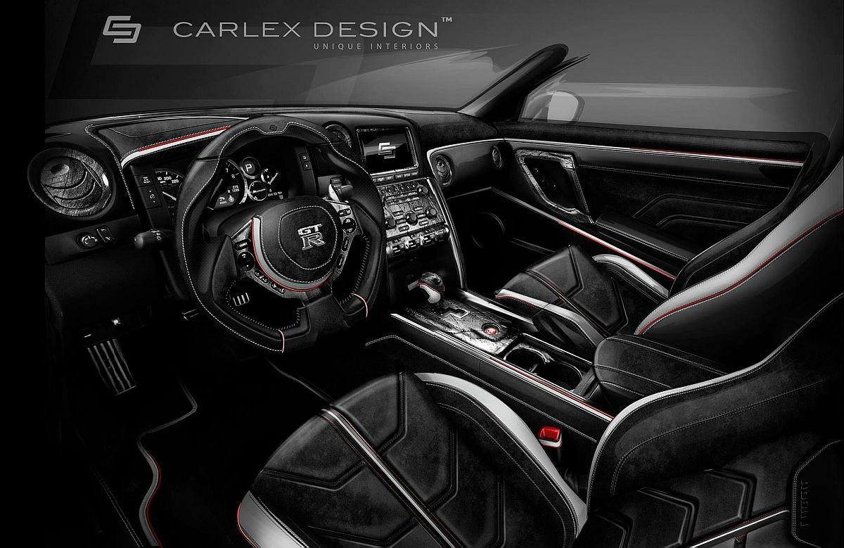 nissan gt r robin von carlex design punktet mit chrom folierung und aufw ndig berarbeitetem. Black Bedroom Furniture Sets. Home Design Ideas