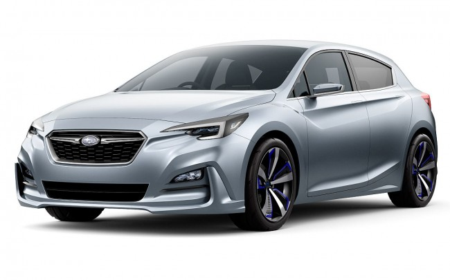 Subaru Impreza 5-Door Concept. Bild: Subaru