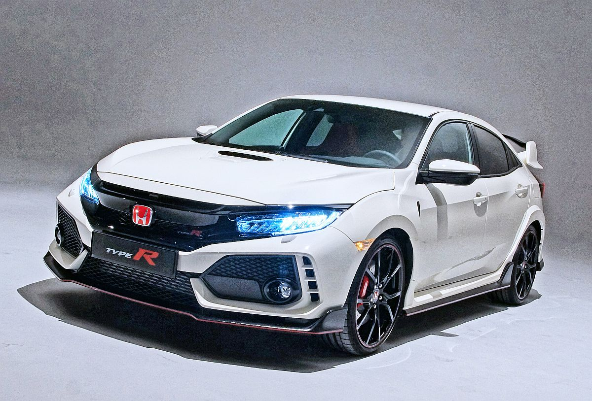 Honda-Civic-Type-R-2017 Vorne