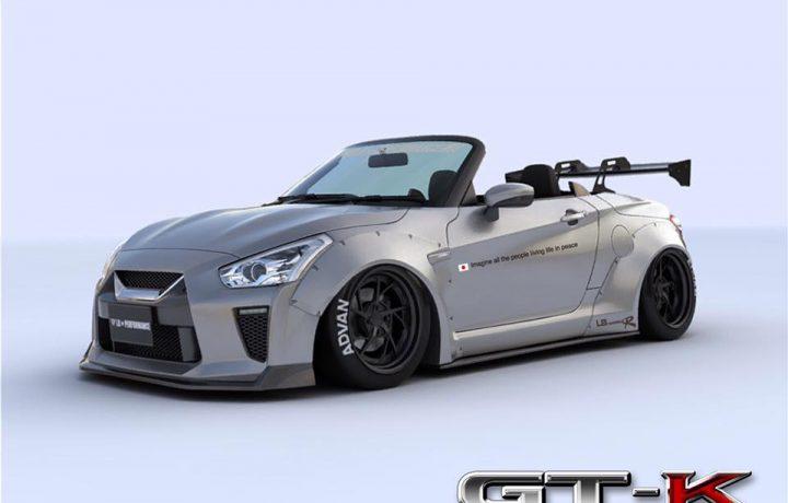 Nissan GT-K Widebody? Warum eigentlich nicht…