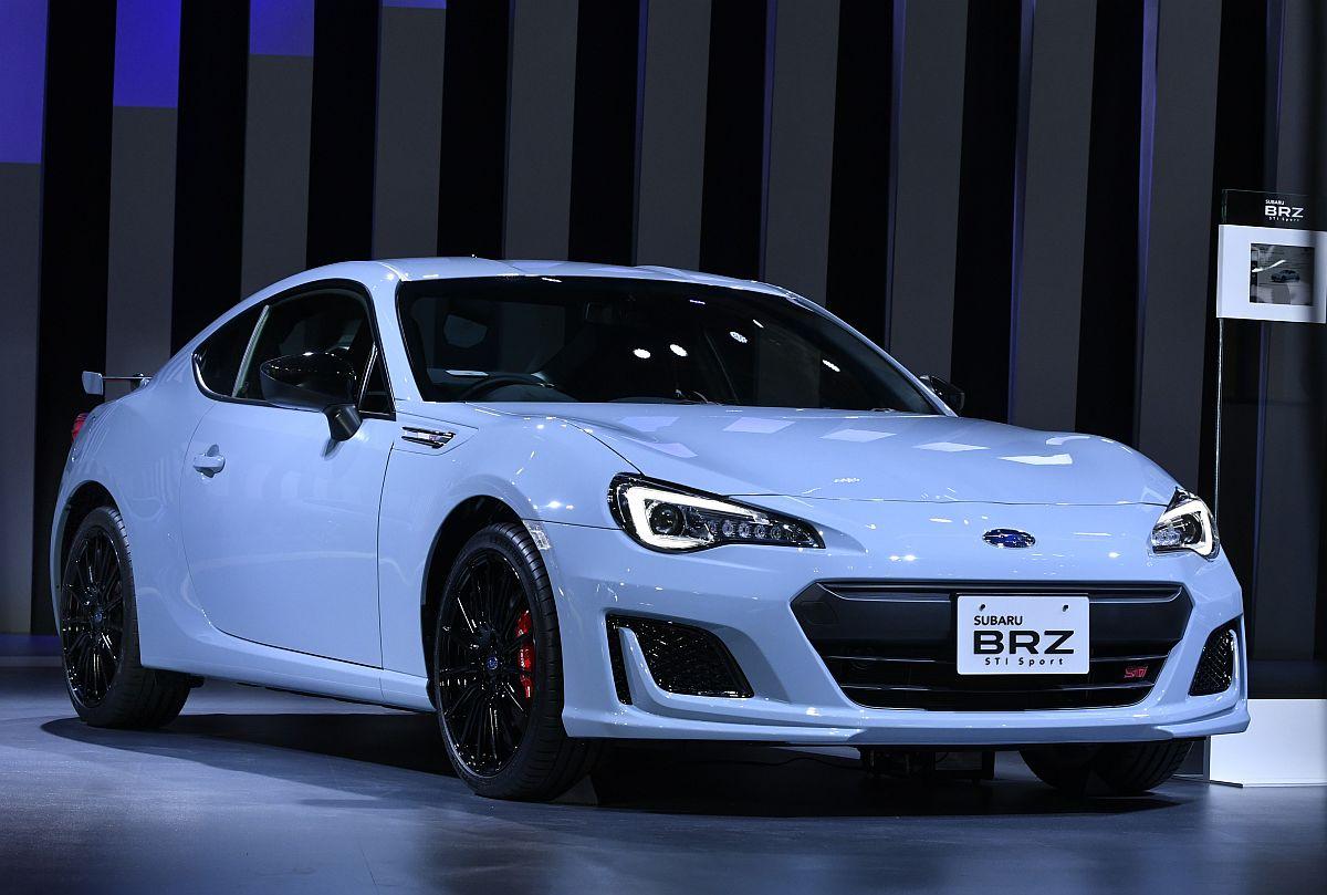 Subaru BRZ STi Sport Tokyo Motor Show 2017-01