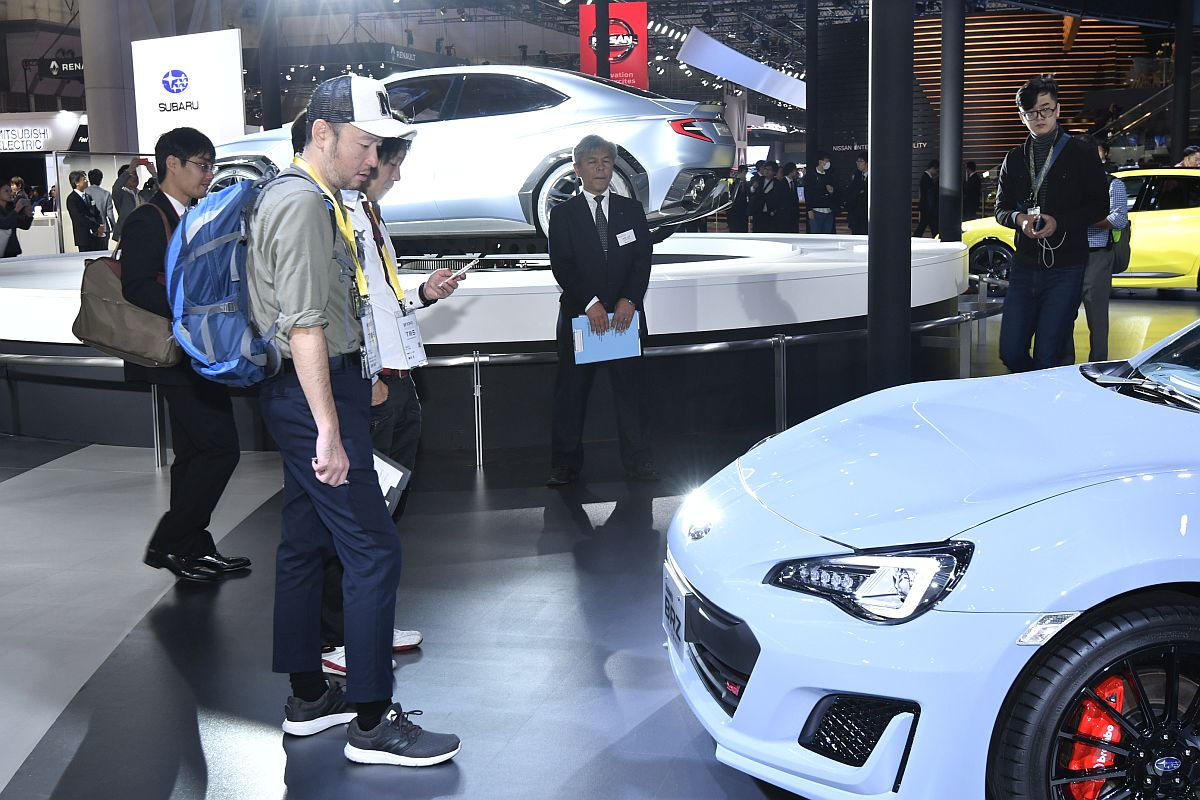 Subaru BRZ STi Sport Tokyo Motor Show 2017-10