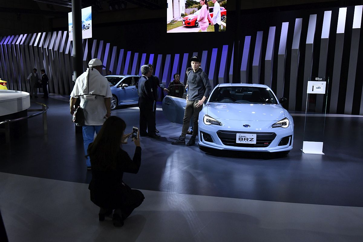 Subaru BRZ STi Sport Tokyo Motor Show 2017-11