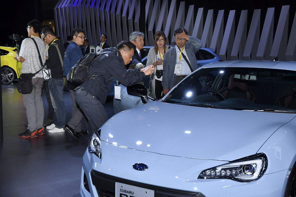 Subaru BRZ STi Sport Tokyo Motor Show 2017-12