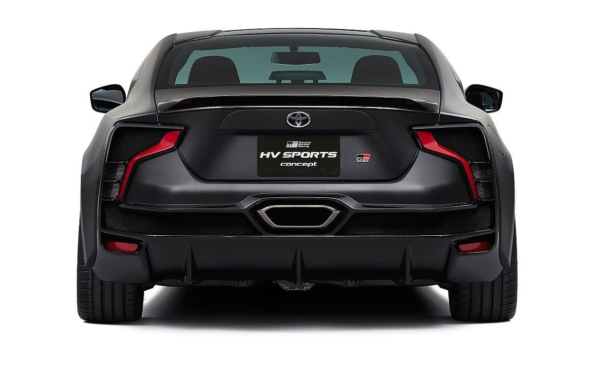 Toyota GR HV Sports concept Hinten