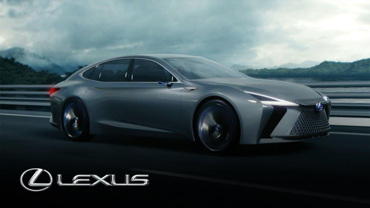 Tokyo motor show lexus pr sentiert ls concept japansport for Tokyo motor show lexus