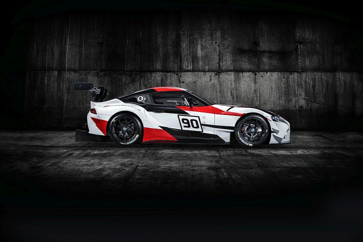 Toyota GR Supra Racing Concept 8